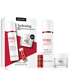 philosophy 3-Pc. Hydrating & Glow Renewing Set