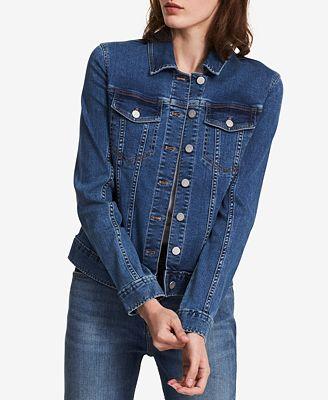 Calvin Klein Jeans Denim Jacket Jackets Women Macy S