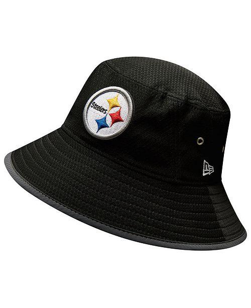 New Era Pittsburgh Steelers Training Bucket Hat - Sports Fan Shop By ... c0a968993