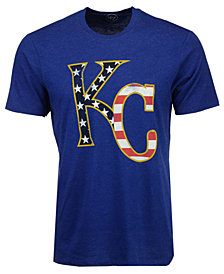 '47 Brand Men's Kansas City Royals Americana Star T-Shirt