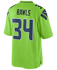 Nike Men's Thomas Rawls Seattle Seahawks Limited Color Rush Jersey