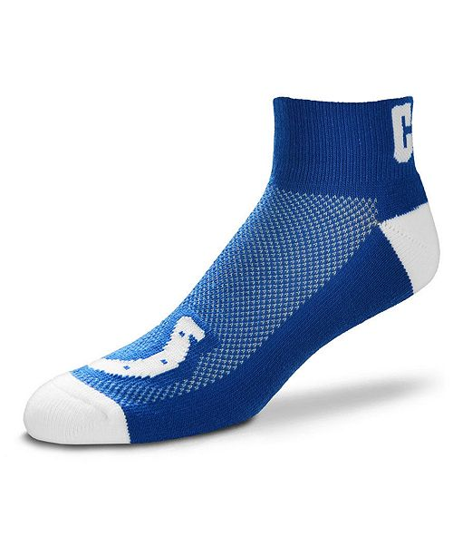 e6b7bb9c For Bare Feet Indianapolis Colts The Cuff Ankle Socks - Sports Fan ...