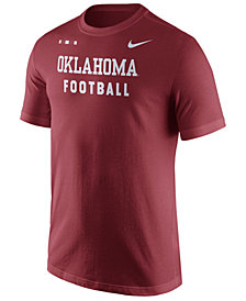 Nike Men's Oklahoma Sooners Facility T-Shirt