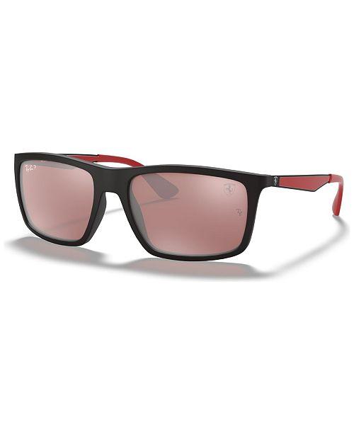 Ray-Ban Polarized Polarized Sunglasses , RB4228M SCUDERIA FERRARI COLLECTION