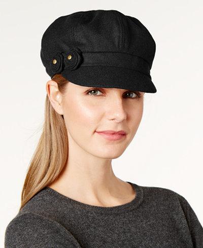 August Hats Flower Newsboy Cap