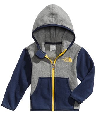 The North Face Glacier Colorblocked Zip Hoodie, Baby Boys (0-24 months)