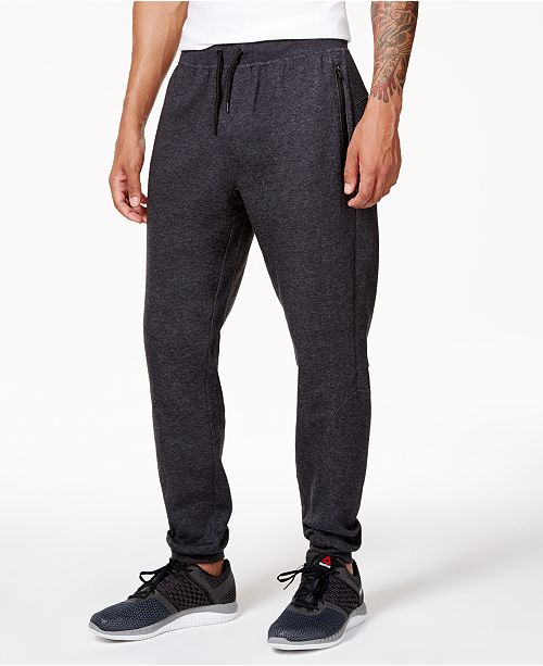 Ideology Men's Cotton Fleece Jogger Pants, Created for Macy's