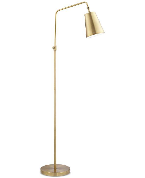 Kathy Ireland Pacific Coast Zella Downbridge Floor Lamp