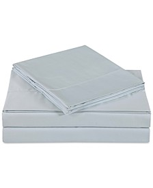 Ultra Cotton Sateen 610 Thread Count Solid Pair of King Pillowcases