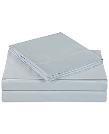 Charisma Ultra Cotton Sateen 610-Thread Count 4-Pc. Solid Queen Sheet Set