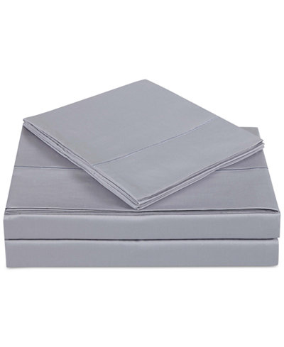 Charisma Classic Cotton Sateen 310 Thread Count 4-Pc. Solid Queen Sheet Set