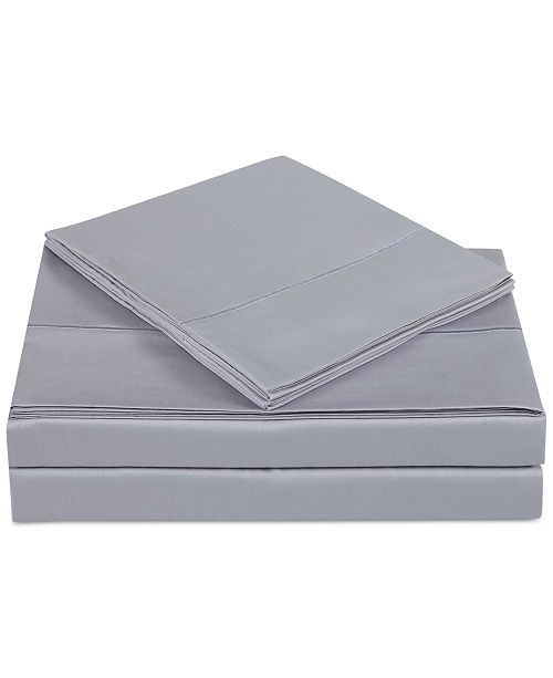 Charisma CLOSEOUT! Classic Cotton Sateen 310 Thread Count 4-Pc. Solid Queen Sheet Set