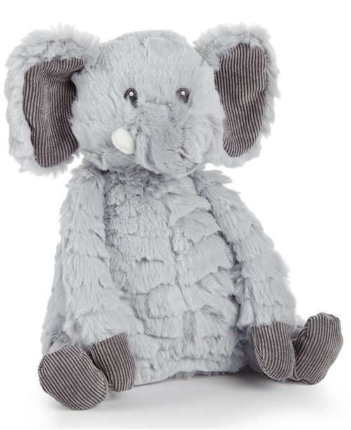 First Impressions Baby Boys Girls 8 Plush Elephant Created For