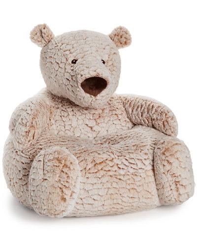 First Impressions Plush Bear Chair Baby Boys Amp Girls