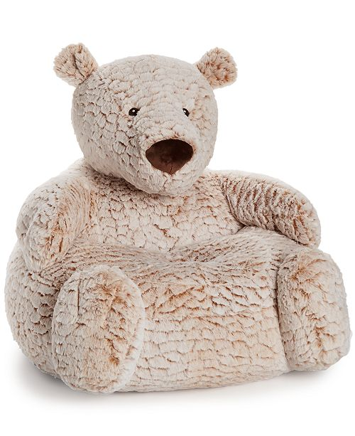 Outstanding First Impressions Plush Bear Chair Baby Boys Girls Pabps2019 Chair Design Images Pabps2019Com