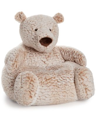 First Impressions Plush Bear Chair, Baby Boys U0026 Girls (0 24 Months)