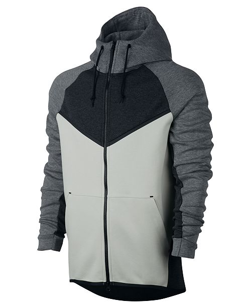 e23c018f958b Nike Men s Sportswear Tech Fleece Windrunner Zip Hoodie   Reviews ...
