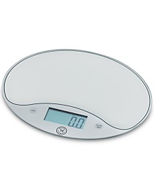 Martha Stewart Collection Glass Food Scale, Created for Macy's,