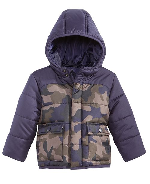 b6f42473f1f6 S Rothschild   CO S. Rothschild Hooded Colorblocked Camo-Print ...
