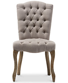 Clemence Dining Side Chair, Quick Ship