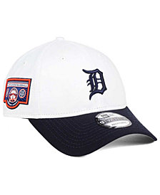 New Era Detroit Tigers Coop Banner Patch 9TWENTY Strapback Cap