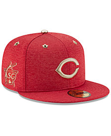 New Era Boys' Cincinnati Reds 2017 All Star Game Patch 59FIFTY Fitted Cap