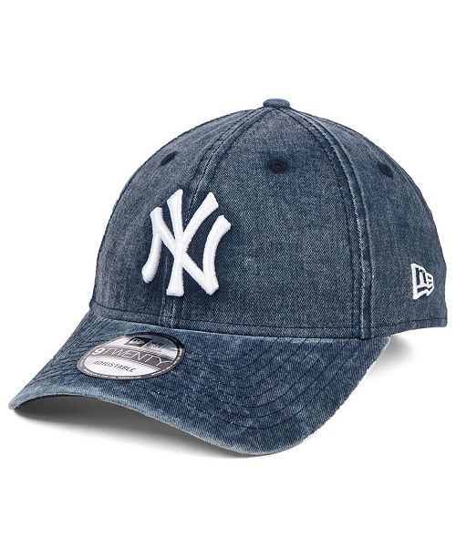 c4a5e928f034e ... New Era New York Yankees Italian Washed 9TWENTY Cap ...