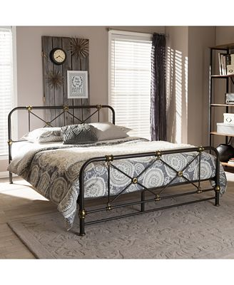 Beatrice Platform Bed Collection, Quick Ship