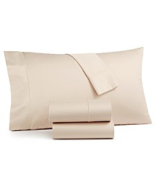 Sleep Luxe 800 Thread Count, 4-PC Full Extra Deep Pocket Sheet Set, 100% Cotton, Created for Macy's