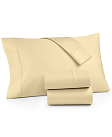 AQ Textiles Devon 4-Pc. Full Sheet Set, 900 Thread Count, Created for Macy's