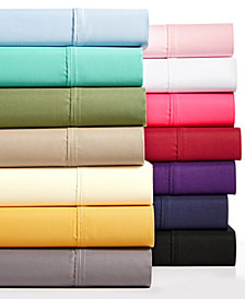 AQ Textiles Devon 4-Pc Sheet & Pillowcase Sets Collection, 900 Thread Count, Created for Macy's