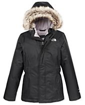The North Face Greenland Hooded Down Parka with Faux-Fur Trim, Little Girls & Big Girls