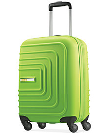 "CLOSEOUT! American Tourister Xpressions 20"" Expandable Carry-On Hardside Spinner Suitcase, Created for Macy's"