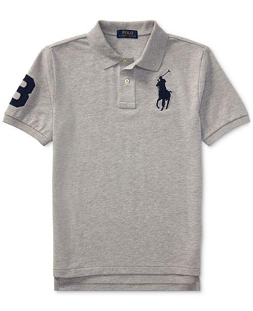 26f871bd8 ... Polo Ralph Lauren Ralph Lauren Big Pony Mesh Cotton Polo, Big Boys ...