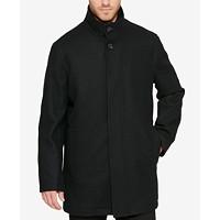 Cole Haan Men's Melton Wool Blend Coat