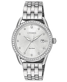 Citizen Drive from Citizen Eco-Drive Women's Stainless Steel Bracelet Watch 37mm