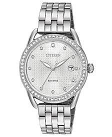 Citizen Drive from Citizen Eco-Drive Women's Stainless Steel Bracelet Watch 37mm