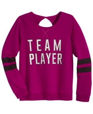 Ideology Team Player Sweatshirt Big Girls (716) Created for Macys