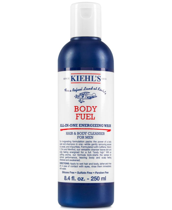 Kiehl's Since 1851 Body Fuel All-In-One Energizing Wash, 8.4-oz. & Reviews - Beauty - Macy's