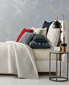CLOSEOUT! Hotel Collection Modern Wave Quilted King Coverlet, Created for Macy's