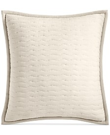 CLOSEOUT! Hotel Collection Modern Wave Quilted European Sham, Created for Macy's
