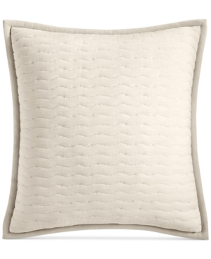 Hotel Collection Arabesque Cotton Quilted European Sham Created for Macys Bedding