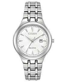 Eco-Drive Women's Stainless Steel Bracelet Watch 32mm