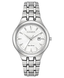 Citizen Eco-Drive Women's Stainless Steel Bracelet Watch 32mm