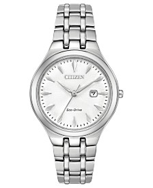Citizen Eco-Drive Women's Stainless Steel Bracelet Watch 32mm