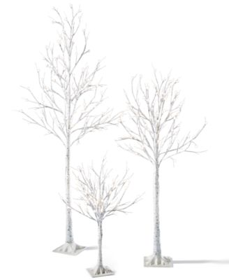 3-Ft. Decorative LED Birch Tree
