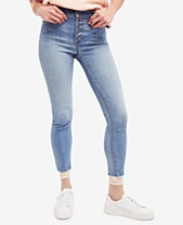 041f65d770d75 Free People Reagan Raw-Hem Skinny Jeans