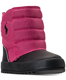 Polo Ralph Lauren Toddler Girls' Gabriel II Quilted Boots from Finish Line