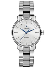 Women's Swiss Automatic Coupole Classic Stainless Steel Bracelet Watch 32mm