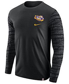 Nike Men's LSU Tigers Enzyme Long Sleeve T-Shirt